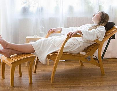 Grasshopper relax chair / recliner / liege