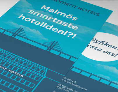 Brochure design for Moment Hotels