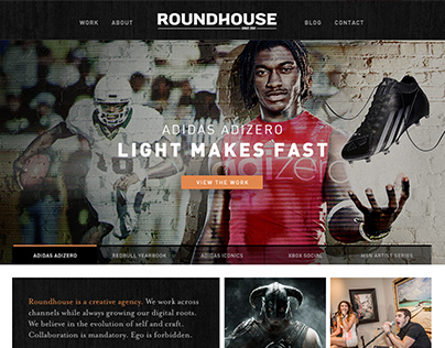 Roundhouse Agency Website