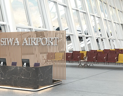siwa airport interior project