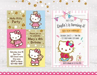 Invitaciones de cumpleaños / Birthday invitations