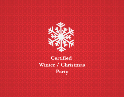 Certified Winter/Christmas Party