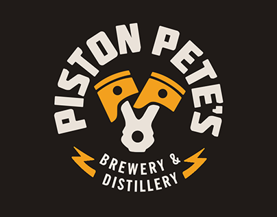 Piston Pete's Brewery: Logo Animation