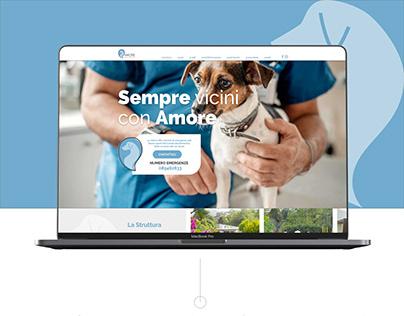 Clinica Veterinaria Amore - Website