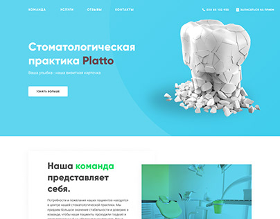 "Redesign of the site ""Platto"""
