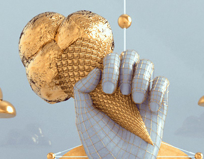 Gelato - Golden ice Cream