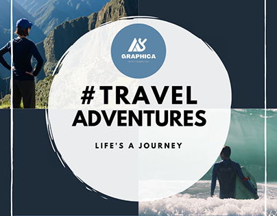 Traveling Adventures Advertising Poster