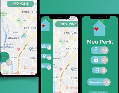UI Design Project - INFO HOME