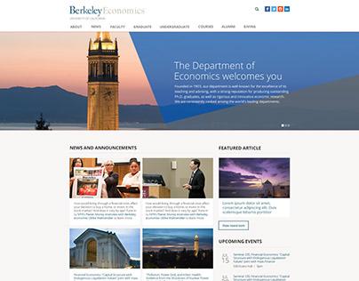 UC Berkeley Department of Economics - Drupal, EDU