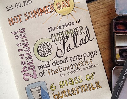 Daily Sketch Journal