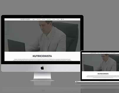 Website Responsivo - Nutricionista Danilo Prado