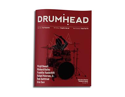 Drumhead Magazine Redesign