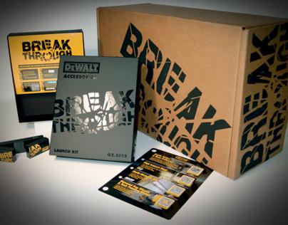 DEWALT 2012 Accessories Launch Kit