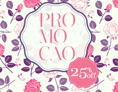 E-mail Marketing Floral Atlanta Promoção 25% off