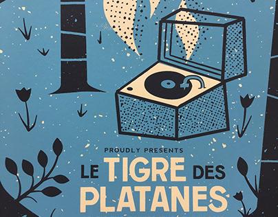 GIGPOSTER • Le Tigre des Platanes