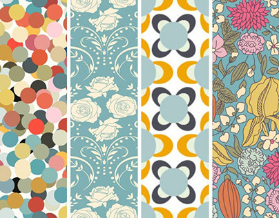 Royalty-Free Seamless Vector Patterns
