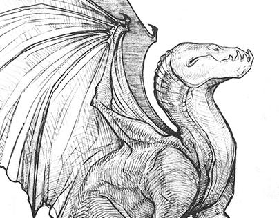 Dragon Sketch