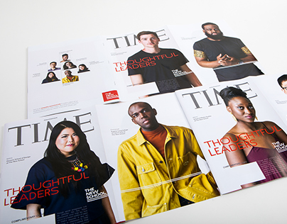 Time Magazine cover wrap advert