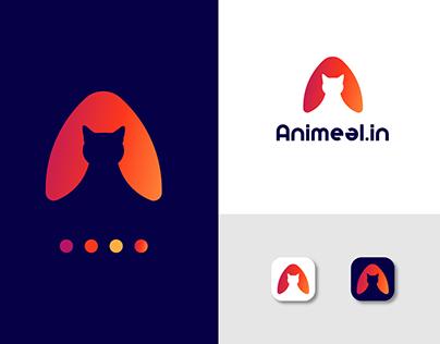 Letter A Logo Mark | Animeal Logo Design