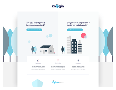 Knogin - Website Design