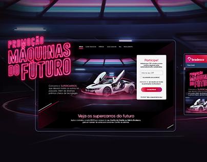 Máquinas do Futuro Bradesco | UI