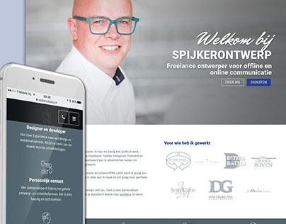 Website SpijkerOntwerp