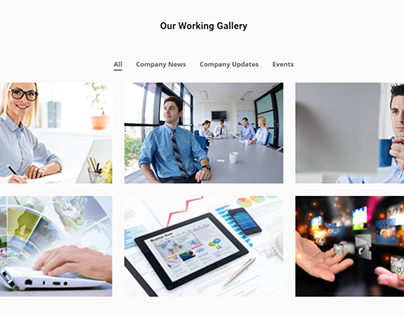 Website showcase design with elementor and wordpress