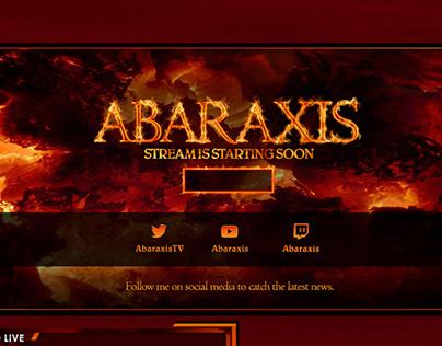 Twitch Channel Design für Abaraxis