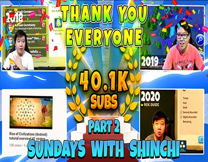 Youtube Gaming Thumbnail For 40k Subs
