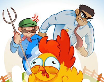 Rooster Rampage - A Hyper Casual Mobile Game