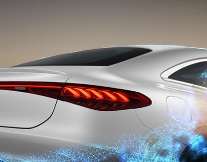 Mercedes EQS - Full CGi
