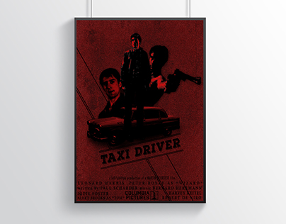 Taxi Driver (1976) Poster