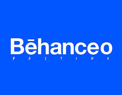 Proyecto personal BEHANCEO Posting