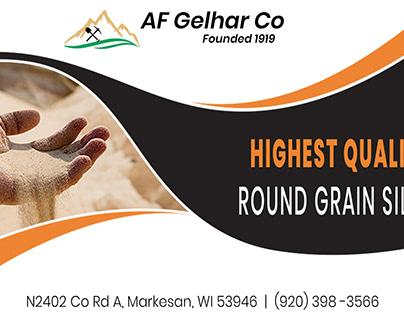 AF Gelhar Trade Show Advertisement