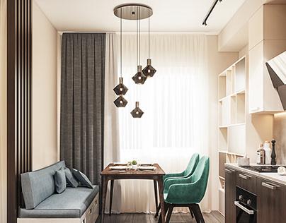 Квартира - студия для пары