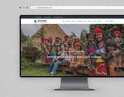 Accento Incentives • Página Web