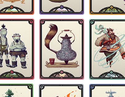 World Folklore Story Cards