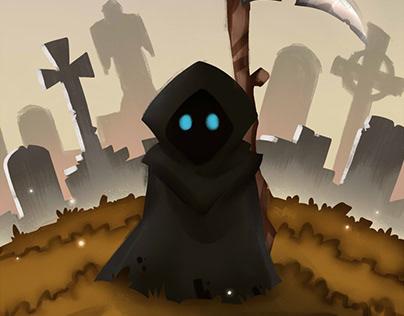 A sad reaper