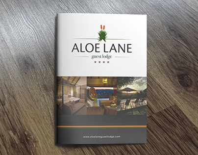 Aloe Lane Guest Lodge Branding & Roll out