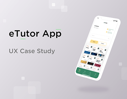 eTutor UX Case Study
