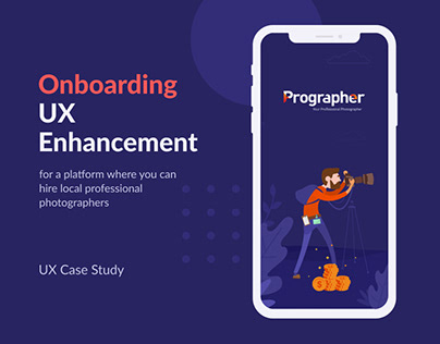 UX Case Study || Prographer