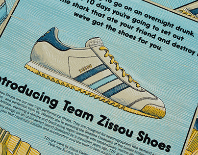 Adidas Team Zissou Shoes - Life Aquatic