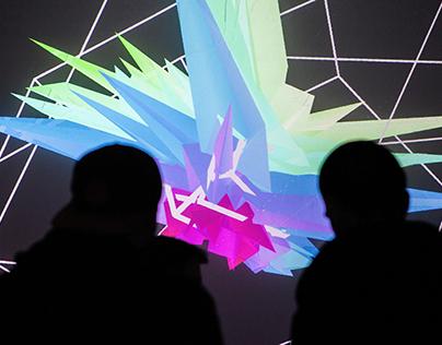 P1 | interactive audiovisual installation