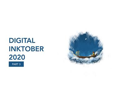 Digital Inktober 2020 - Part 3