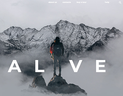Parallax effect on Web site