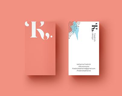 K.Friedrich Design ~ Visual Identity