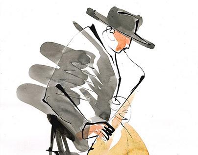 Musicians sketches