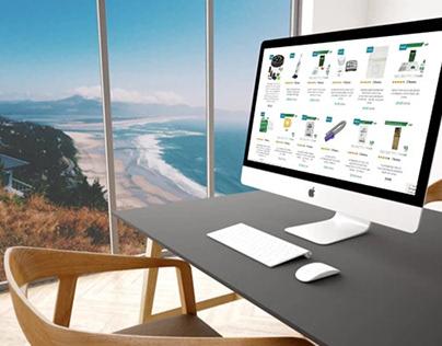 GoVacuum - Development of responsive web application