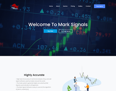 Financial Trading Website By Kazi Solution
