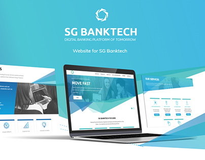 SG TechBank: UX/UI for a Website